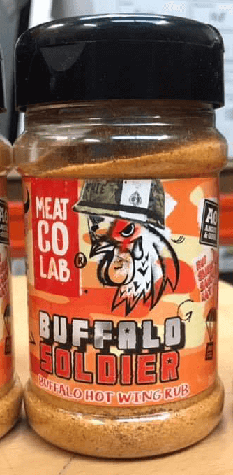 Load image into Gallery viewer, BUFFALO SOLDIER WING RUB 200G