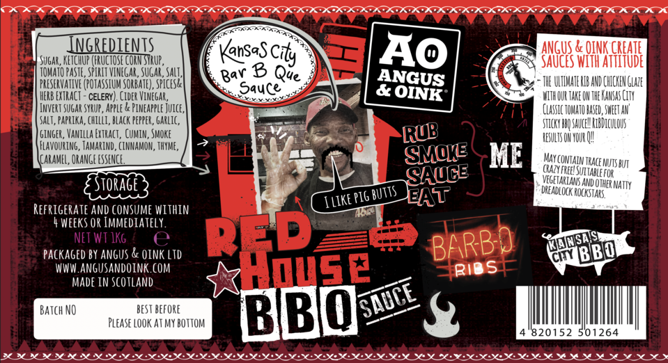 Load image into Gallery viewer, RED HOUSE KANSAS CITY BBQ SAUCE 300ML - Bromfields-Butchers