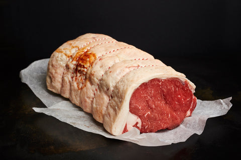 Dry Aged Rolled Sirloin - Bromfields-Butchers
