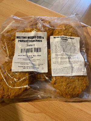 Melt in Middle Cod & Parsley Fish Cakes - Bromfields-Butchers