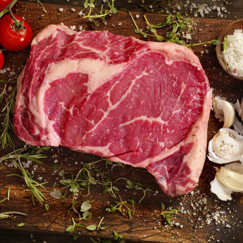 32 Day + Dry Aged Rib Eye Steak - Bromfields-Butchers