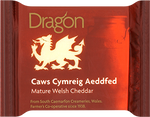 Dragon, Mature Red Welsh Cheddar, 180g Wedge