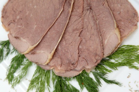 Sliced Cooked Beef (per 120g) - Bromfields-Butchers
