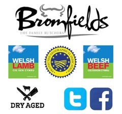 6 x Welsh Black Rib Eye Steak Offer - Bromfields-Butchers