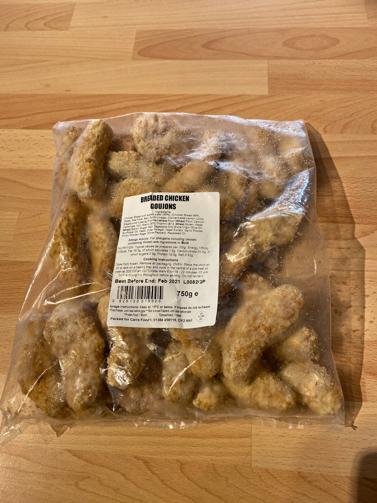 Load image into Gallery viewer, Breaded Chicken Goujons - Bromfields-Butchers