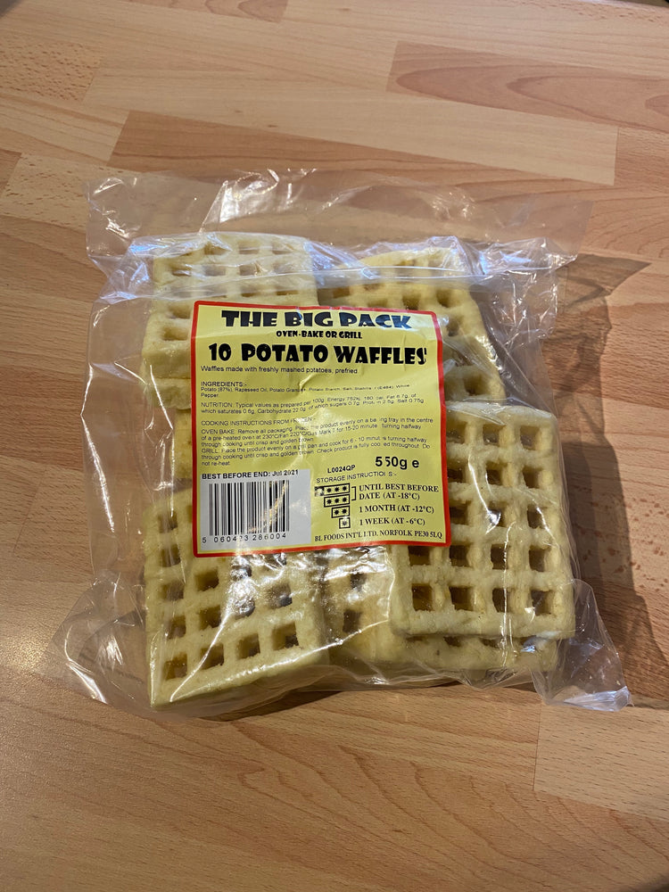 Load image into Gallery viewer, Potato Waffles - Bromfields-Butchers
