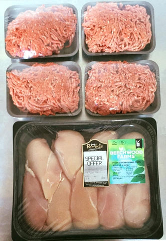Chicken & Mince Pack - Bromfields-Butchers