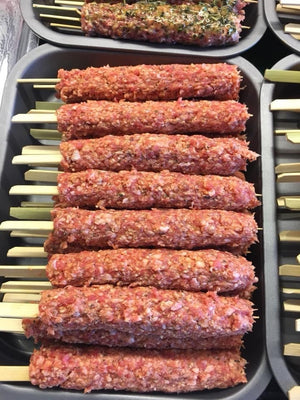 Load image into Gallery viewer, Minted Lamb Kofta Kebab x6