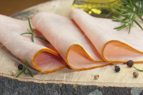 Sliced Cooked Turkey (per 120g) - Bromfields-Butchers