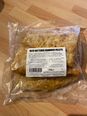 Load image into Gallery viewer, Beer Battered Haddock Fillets - Bromfields-Butchers