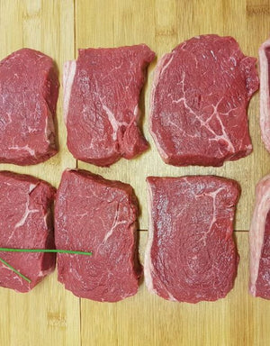6 x 10 oz Matured Rump Steaks - Bromfields-Butchers