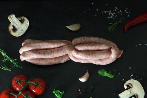 Traditional Pork Chipolata Sausages - Bromfields-Butchers