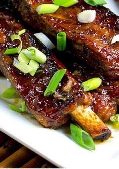 1kg Teriyaki Pork Ribs - Bromfields-Butchers