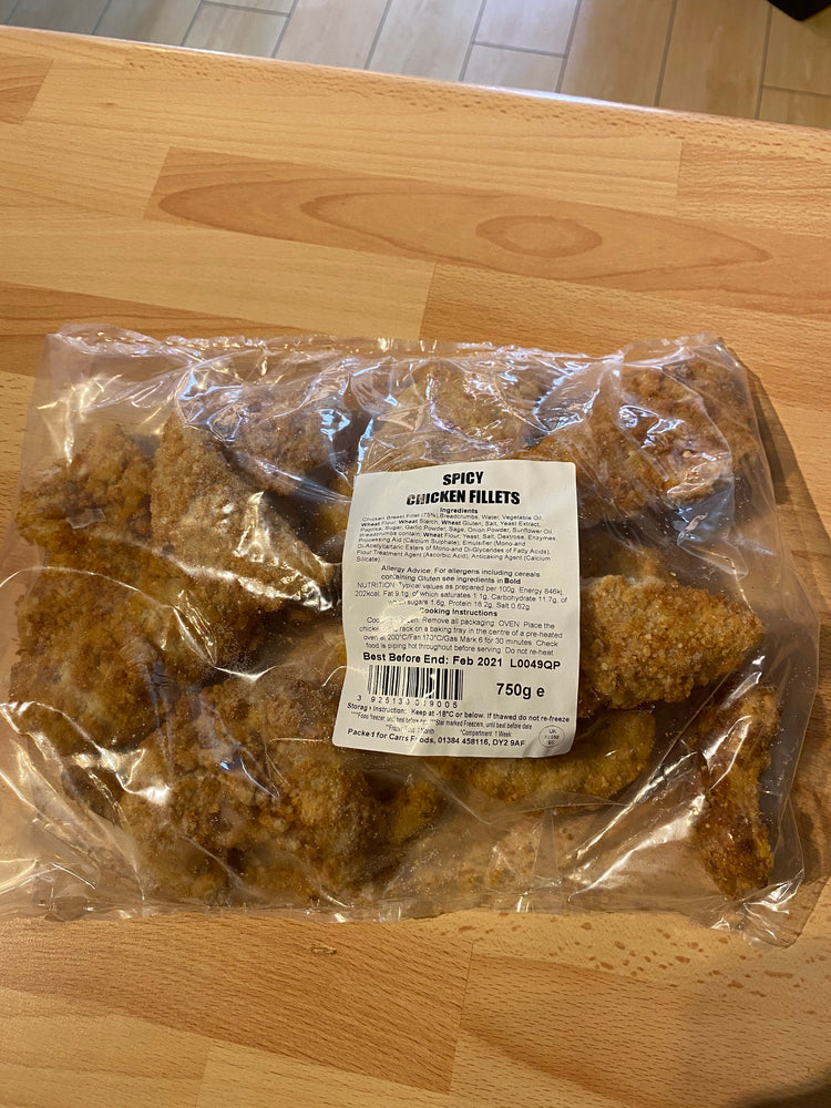 Spicy Chicken Fillets - Bromfields-Butchers