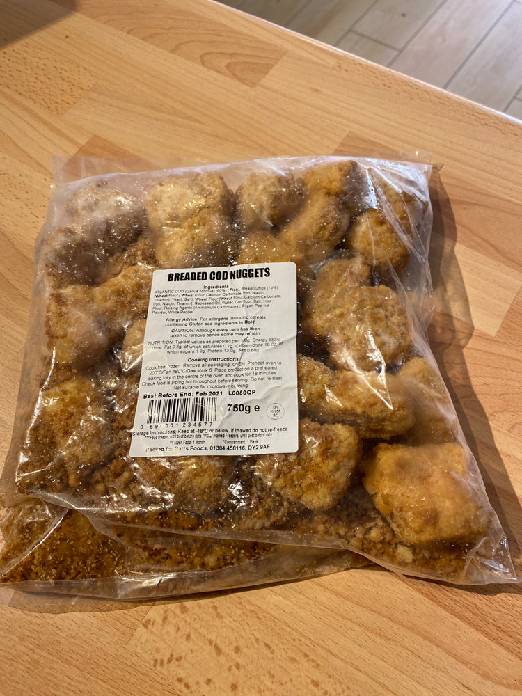 Breaded Cod Nuggets - Bromfields-Butchers