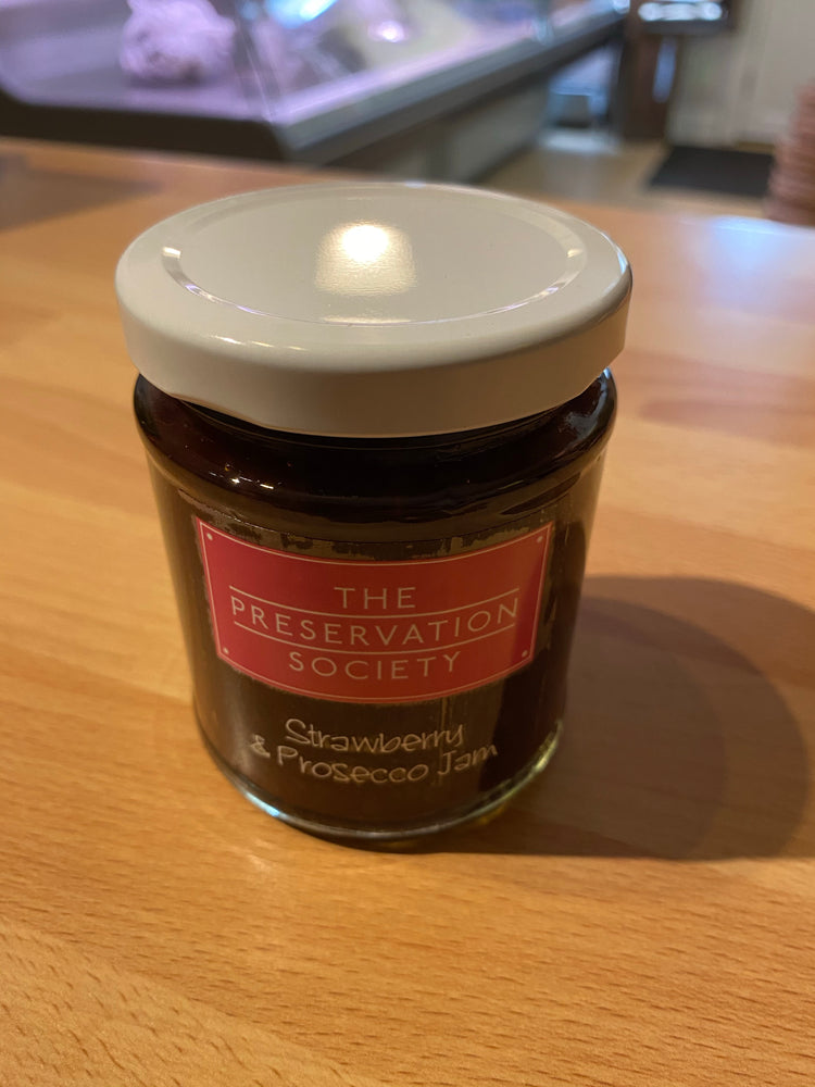 Load image into Gallery viewer, Strawberry & Presecco Jam - Bromfields-Butchers