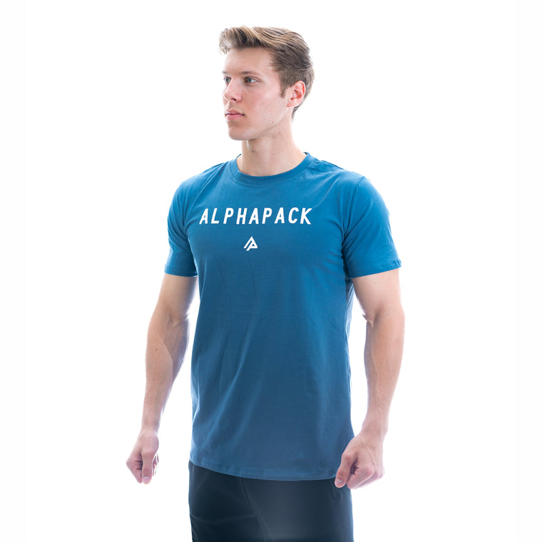 Men's Athletic Tee - Cobalt Blue