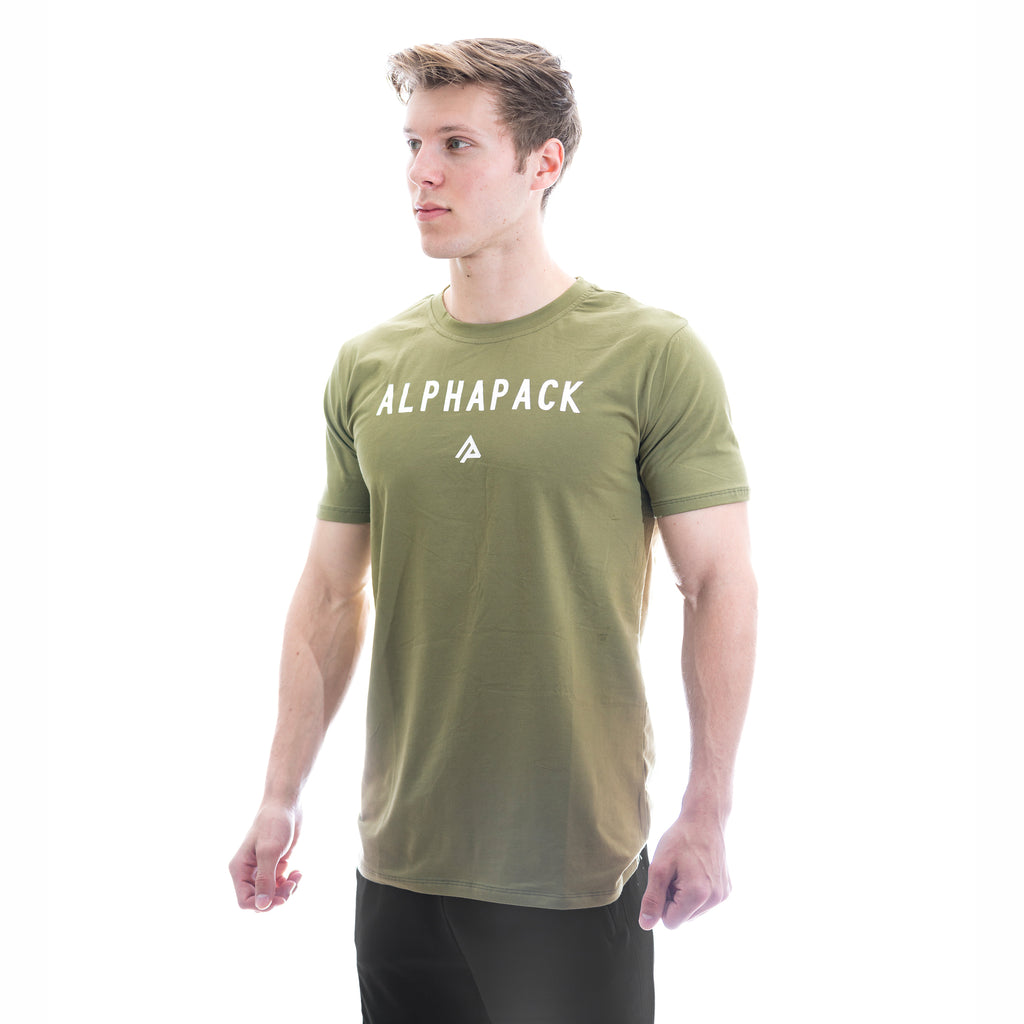 Men's Athletic Tee - Alpine Green
