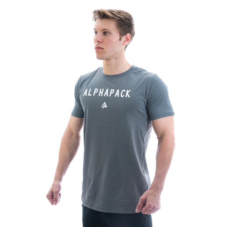 Men's Athletic Tee - Steel Grey