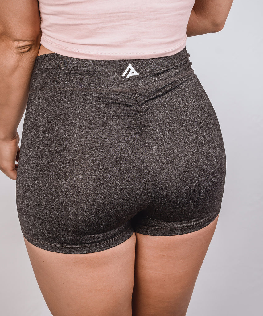 AP Flux Shorts - Heathered Grey