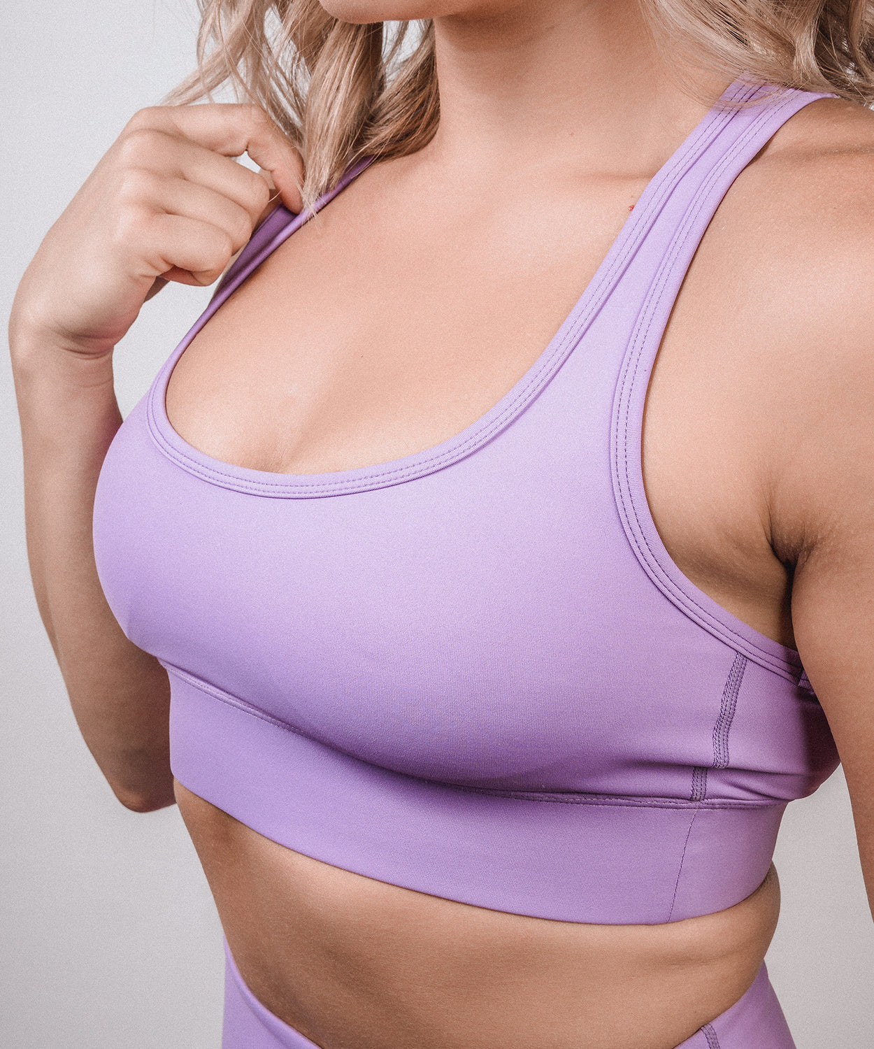 Signature Sports Bra - Ultra Violet