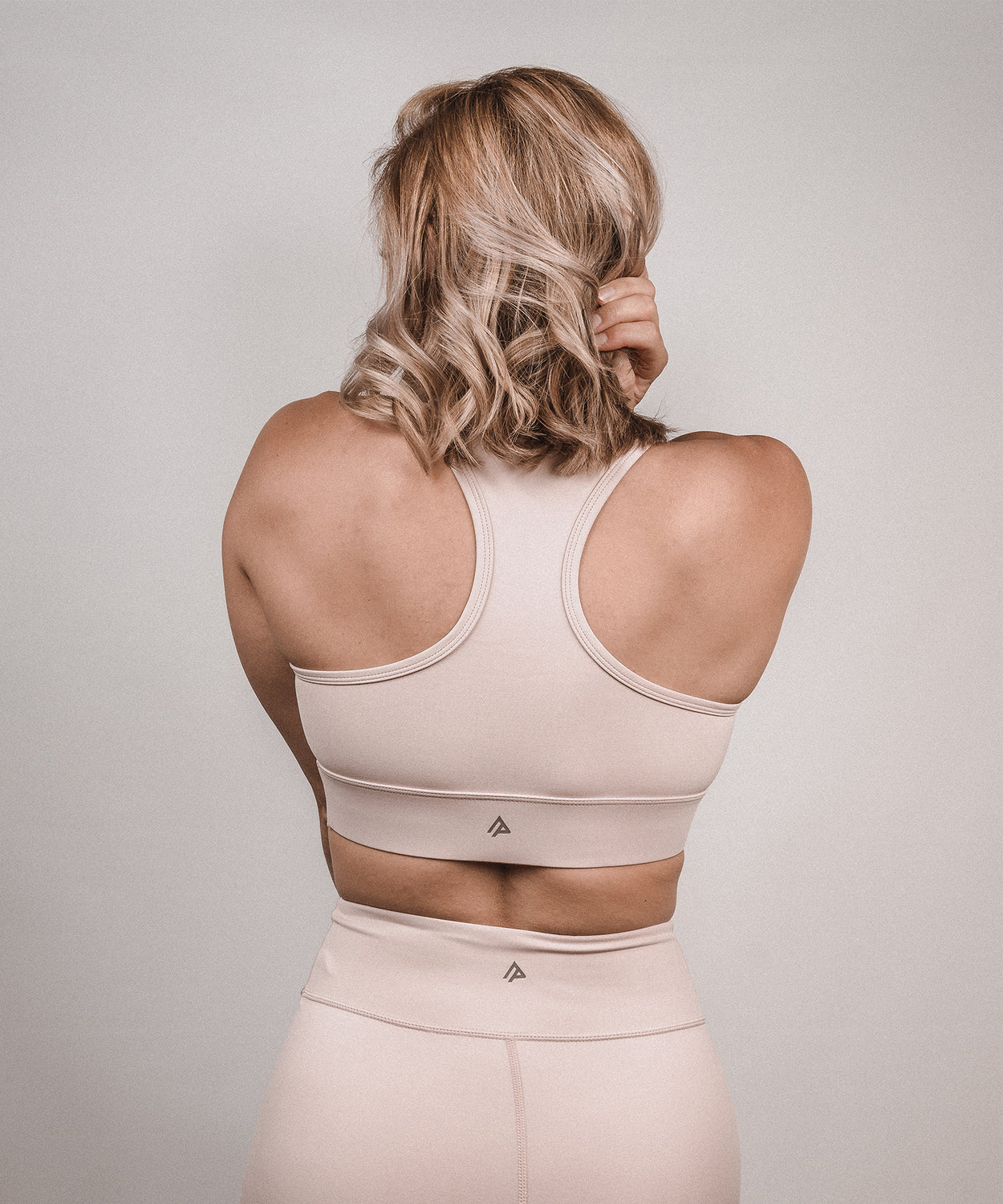 Signature Sports Bra - Dusty Pink
