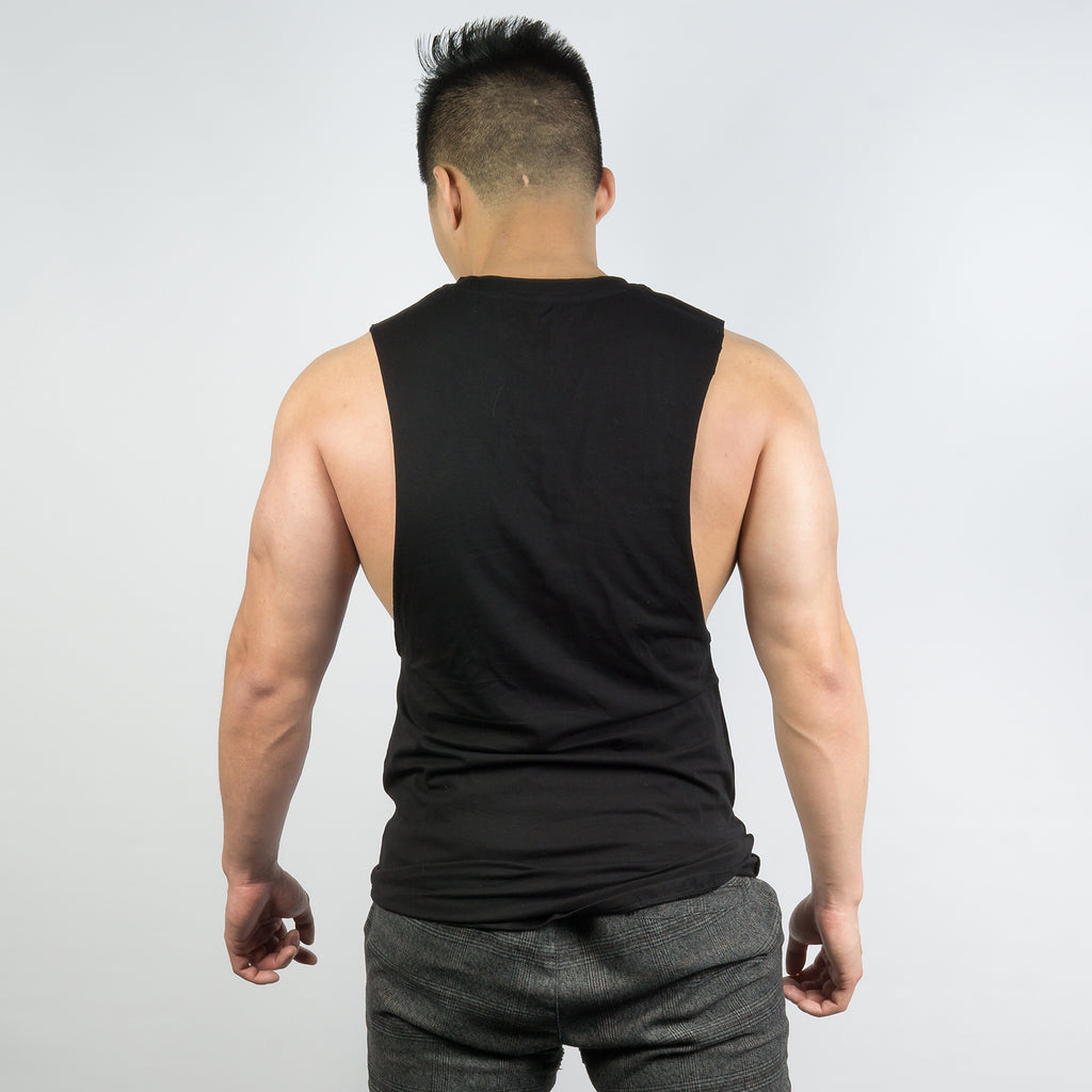 AP Sleeveless Tee - Black