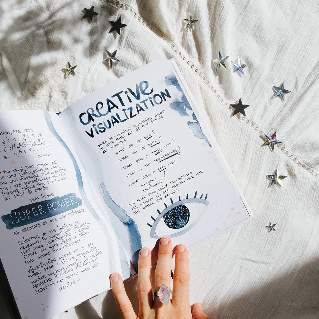 dreamy moons | manifest book