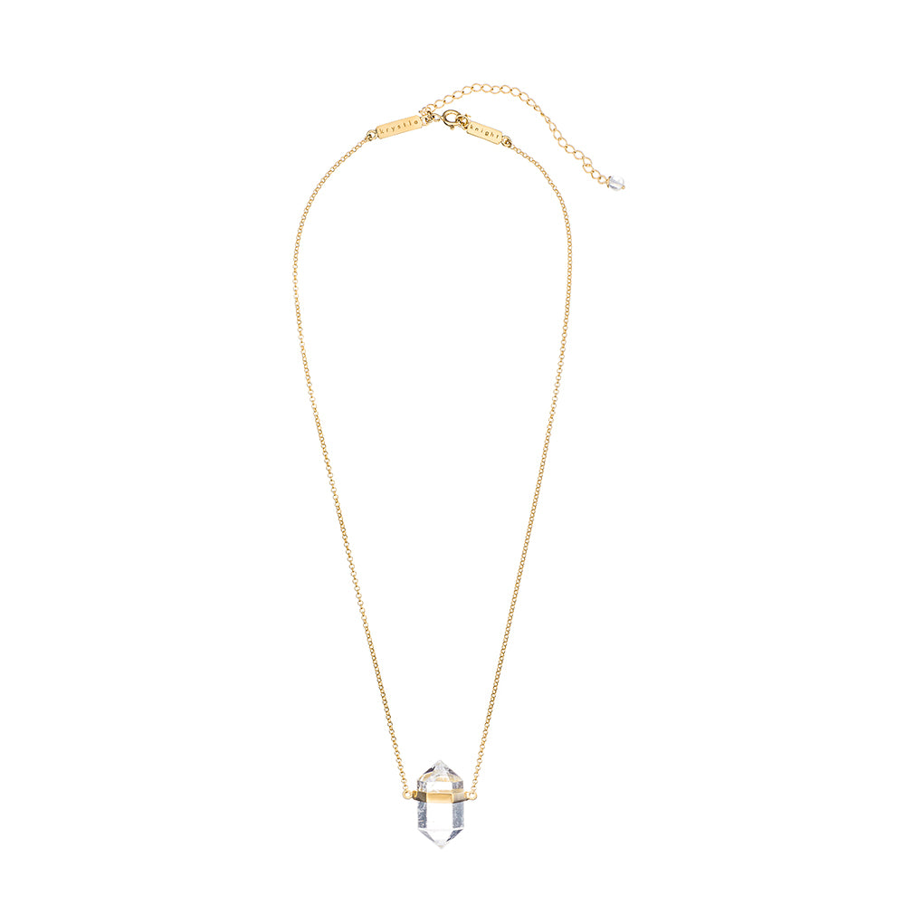 keep me calm crystal necklace | small