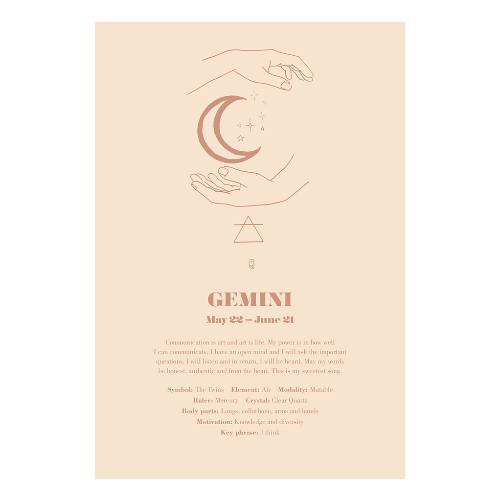 VARIOUS FRIENDS | Zodiac Love Notes | Gemini