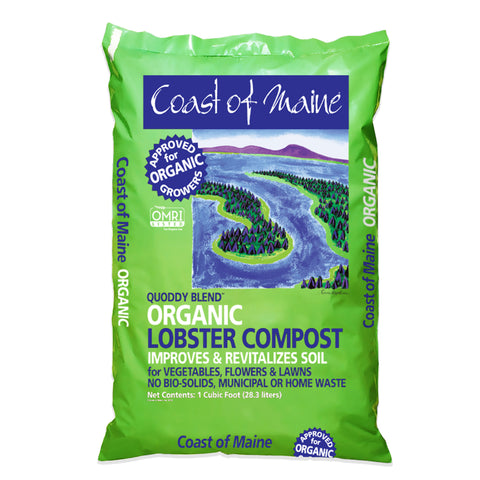 Quoddy Blend™ Lobster Compost – 1ft³