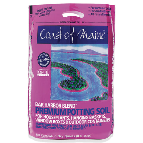 Bar Harbor Premium Potting Soil – 8qt