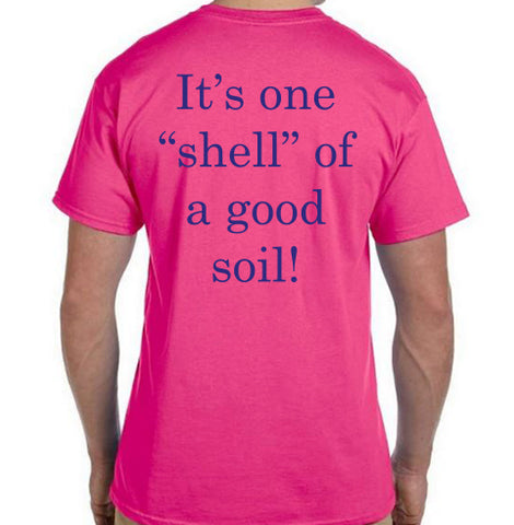 "Coast of Maine - It's one ""shell"" of a good soil T-Shirt"