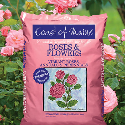 Natural & Organic Planting Soil for Roses & Flowers