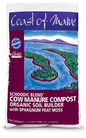 Schoodic Blend Cow Manure Compost