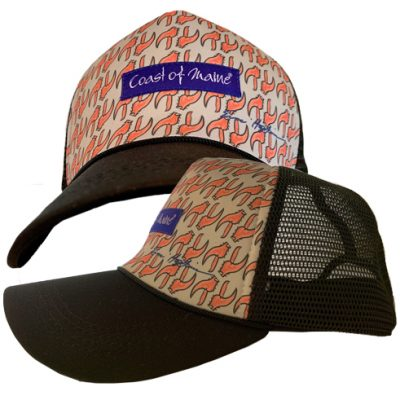 Coast of Maine - Trucker Hat - Lobster Theme