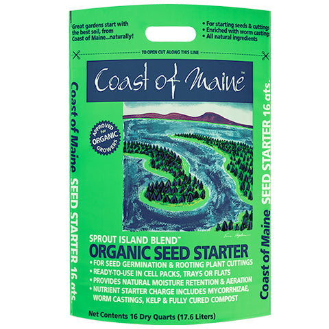 Sprout Island Organic Seed Starter