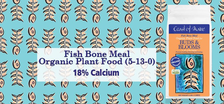 organic fishbone meal, calcium and chiten fertilizer,