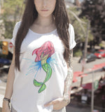 Mermaid Tee - In honor of imagination