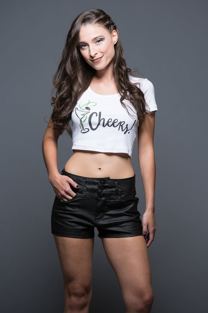Cheers! Crop Top