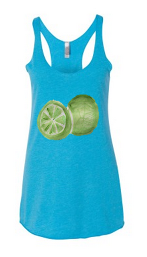 Fresh Lime Tank - Be Fresh - White