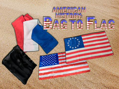 American History Bag to Flag