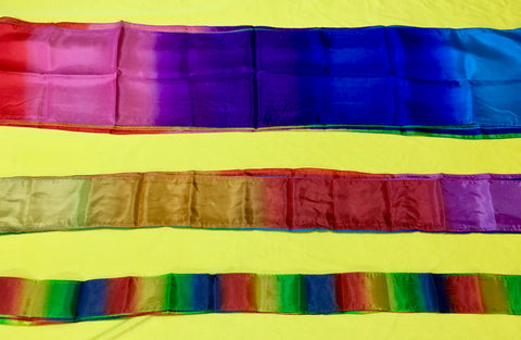 Silk Rainbow Streamer