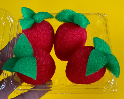 Sponge Strawberries
