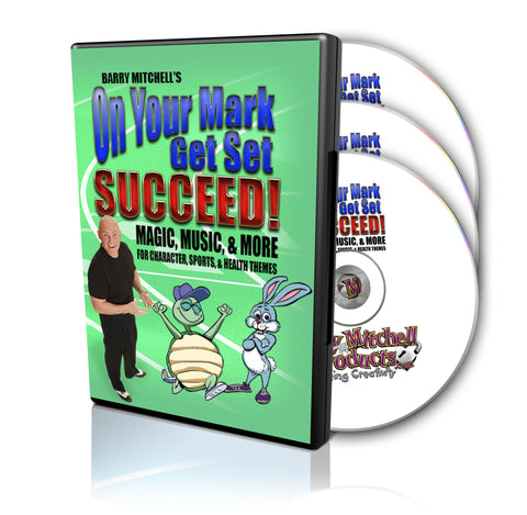 On Your Mark.  Get Set.  Succeed! DVD/CD Package
