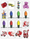 Super Screen Christmas Printable Inserts