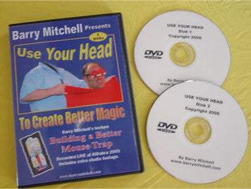 Use Your Head to Create Better Magic DVD