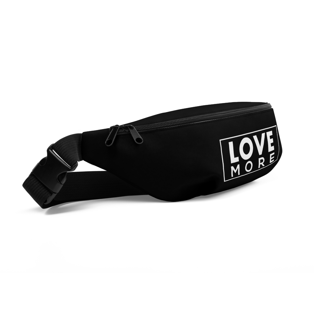 "iPositiv - ""Love More"" Fanny Pack"