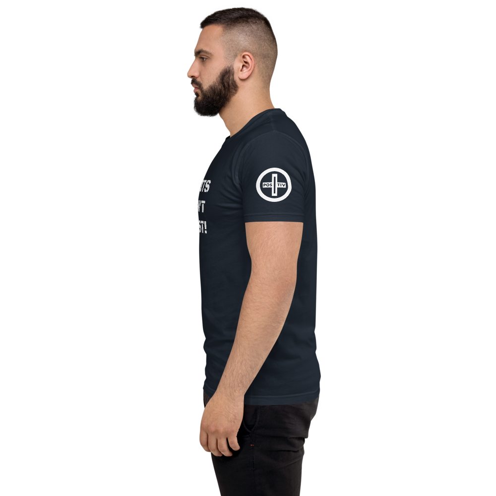 "iPositiv - ""Limits Don't Exist"" Men's T-shirt"
