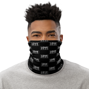 "Load image into Gallery viewer, iPositiv - ""Love More"" Neck Gaiter/Face Covering"